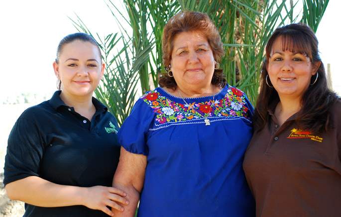 Blanca, Graciela, and Maricela